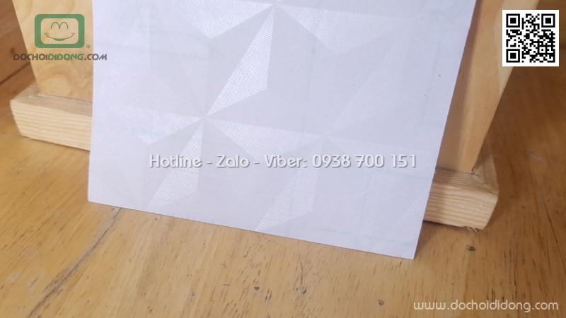 Miếng dán mặt lưng iPhone 7 Plus in khối 3D
