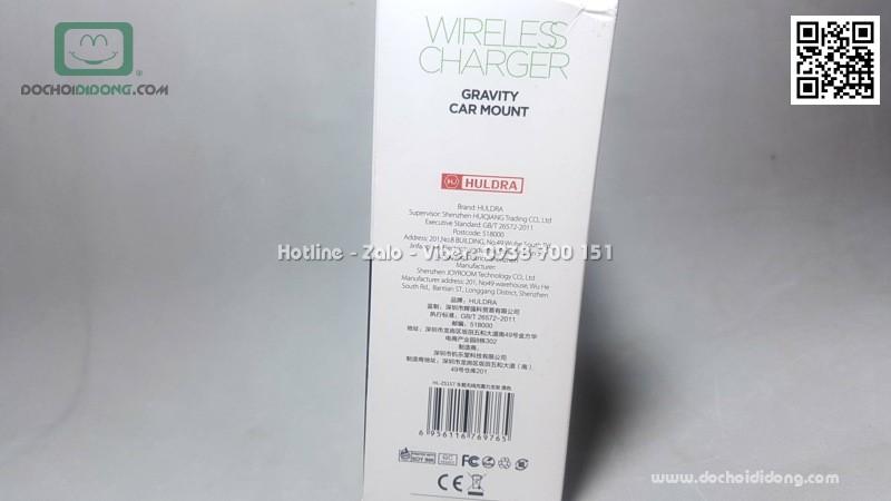 Giá đỡ điện thoại kiêm sạc không dây Huldra