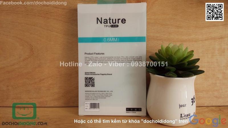 Ốp lưng Asus Zenfone 3 ZE552KL Nillkin dẻo trong cao cấp