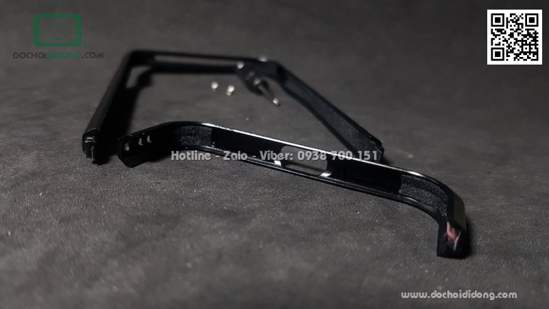 Viền kim loại iPhone 7 8 Luphie chính hãng cao cấp