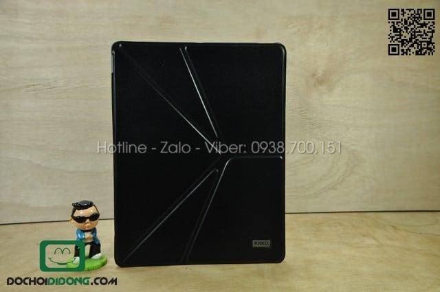 Bao da iPad 2-3-4 Kaku chân gấp chữ V