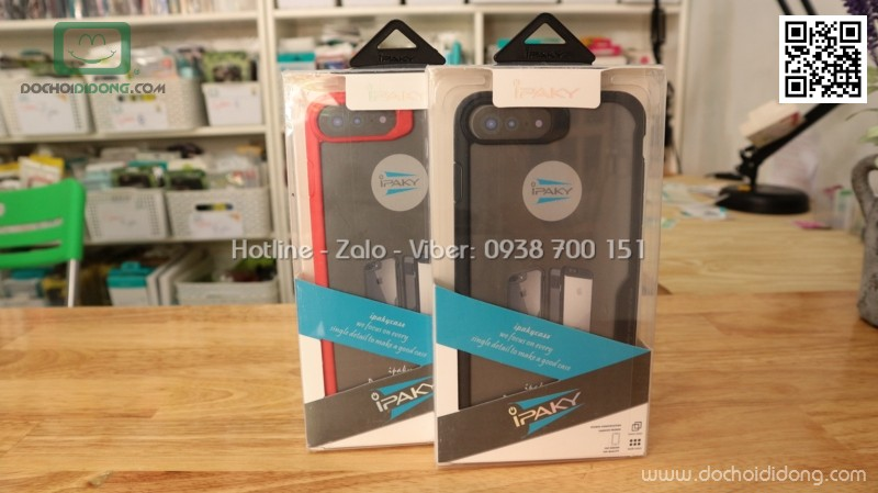 Ốp lưng iPhone 7 Plus Ipaky Leego chống sốc