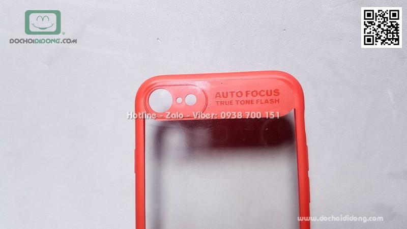 Ốp lưng iPhone 7 8 Likgus cứng trong viền màu