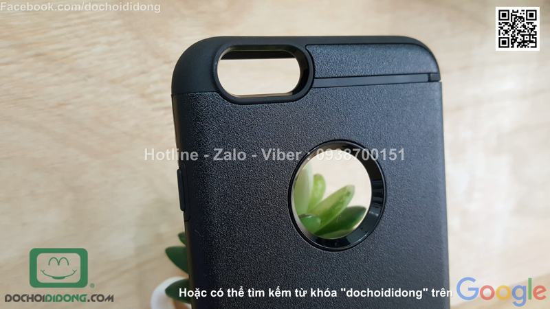 Ốp lưng Iphone 6 6s Plus Ringke Max chống sốc cao cấp
