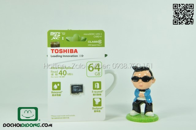 Thẻ nhớ microSD Toshiba 64GB Class 10
