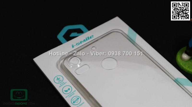 Ốp lưng HTC Desire 10 Pro iSmile dẻo trong siêu mỏng