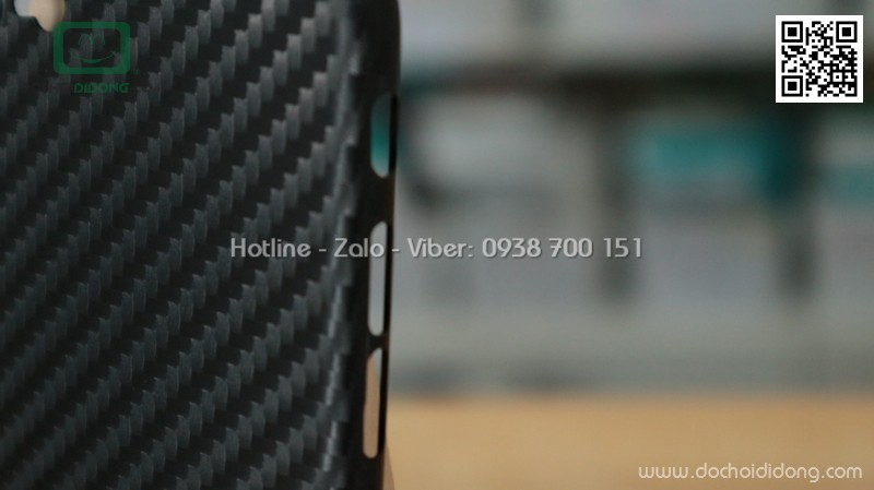 Ốp lưng iPhone 8 iCan carbon siêu mỏng