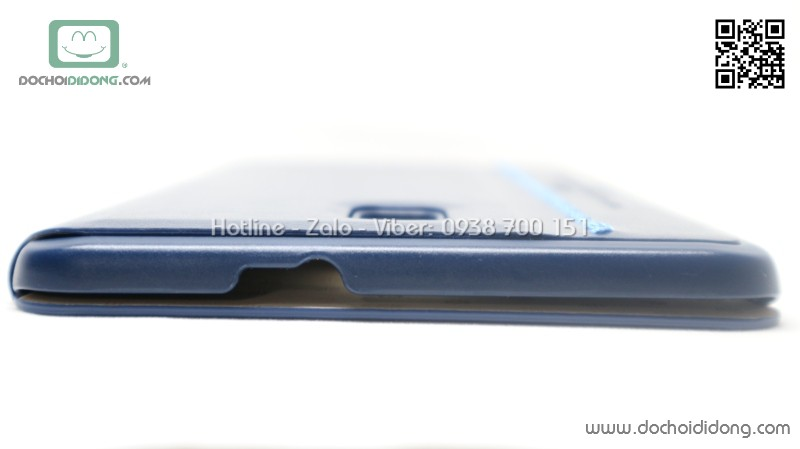 Bao da Samsung Tab A 8.0 2017 Kaku da trơn