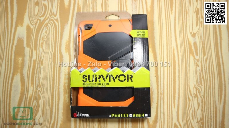 Ốp lưng iPad mini 1 2 3 Griffin Survivor