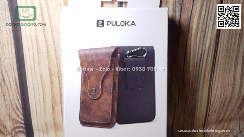 Túi đeo thắt lưng Puloka dạng đứng