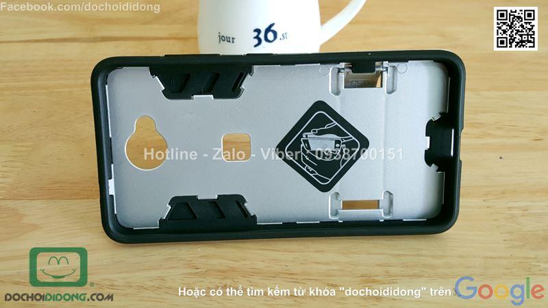Ốp lưng Lumia 650 Iron Man chống sốc có chống lưng
