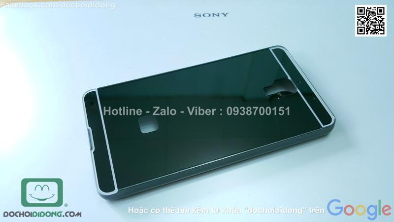 Ốp lưng Xiaomi Mi 5 viền nhôm lưng tráng gương