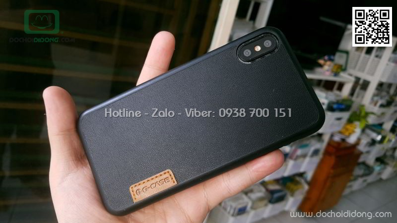 Ốp lưng iPhone X G-Case Dark Series