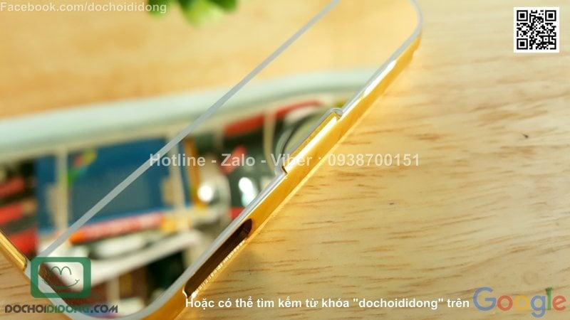 Ốp lưng HTC Desire 826 viền nhôm lưng tráng gương