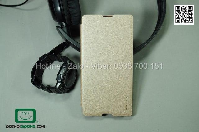 Bao da Sony Xperia M5 Nillkin Sparkle