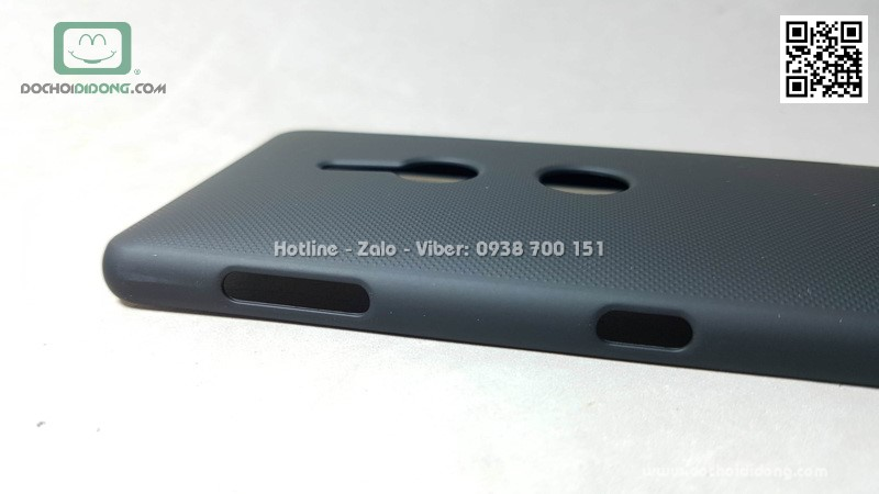Ốp lưng Sony XZ2 Nillkin vân sần