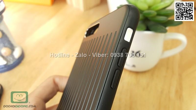 Ốp lưng iPhone 8 Plus Meephone Metal bọc da