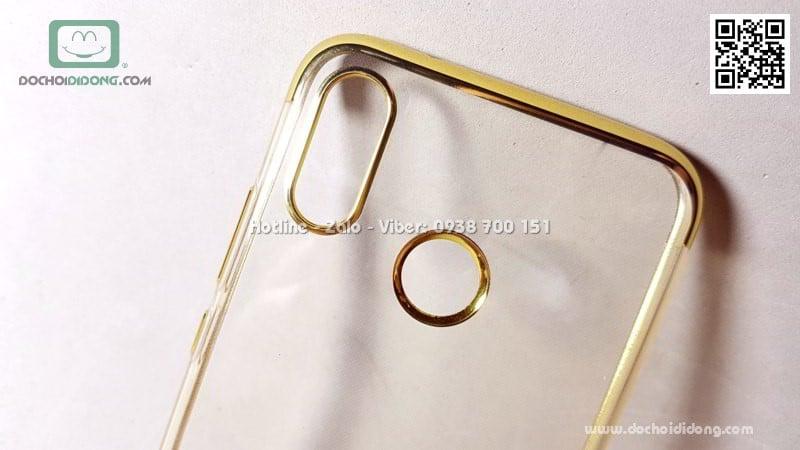 Ốp lưng Huawei Nova 3e Zacase dẻo trong viền màu chống sốc