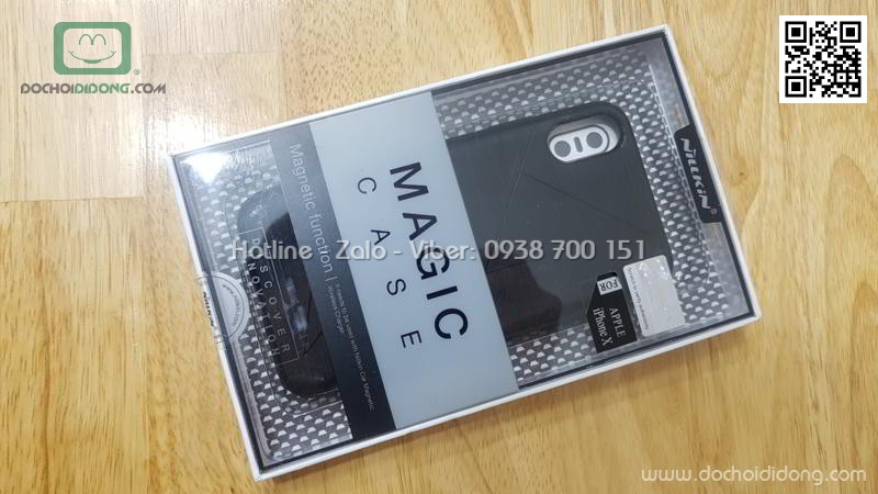 Ốp lưng iPhone X XS Nillkin Magic Case chống sốc