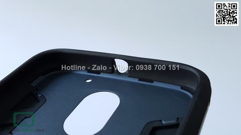 Ốp lưng Motorola E3 Power Iron Man chống sốc có chống lưng