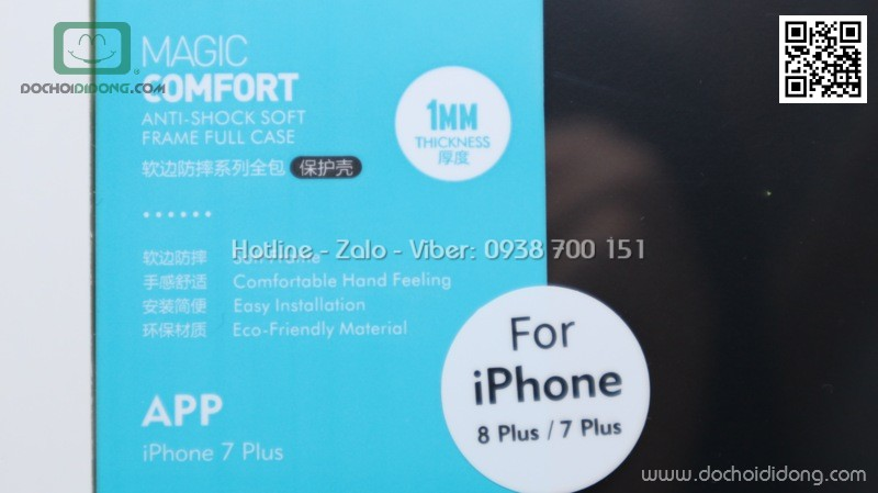 Ốp lưng iPhone 7 8 Plus Benks Magic Comfort 1mm