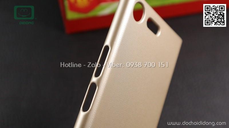 Ốp lưng Sony XZ Premium Nillkin vân sần