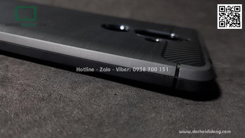 Ốp lưng Nokia 7 Plus Likgus chống sốc vân kim loại