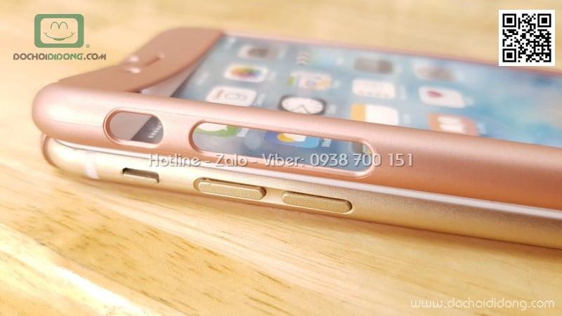 Ốp lưng iPhone 6 6S bảo vệ 360 độ có kính cường lực
