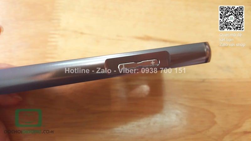 Ốp lưng OPPO Joy 3 viền nhôm lưng tráng gương