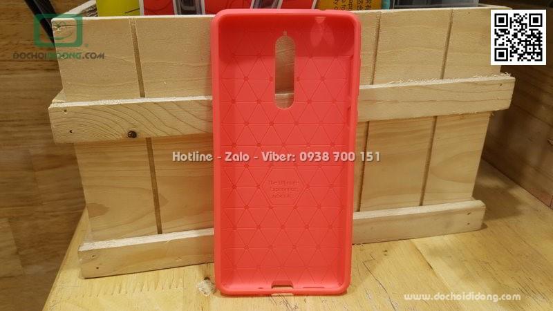 Ốp lưng Nokia 8 Auto Focus dẻo lưng Da