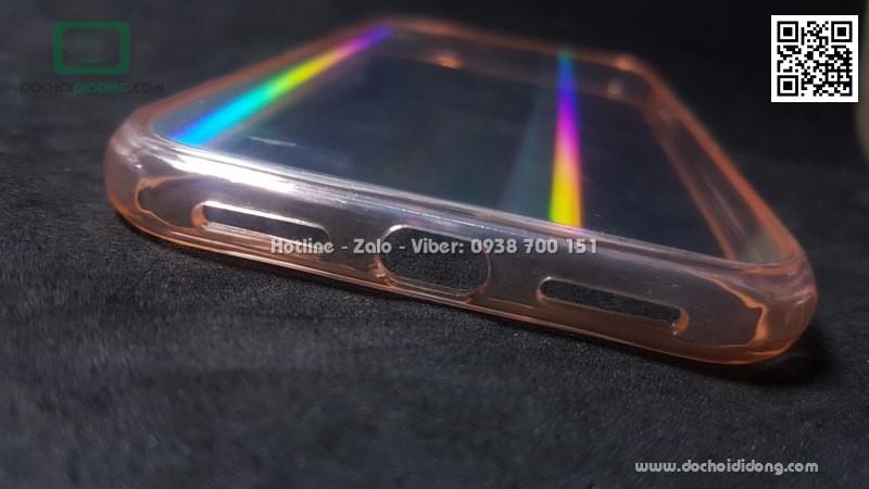 Ốp lưng iPhone XR Likgus Aurora lưng kính đổi màu