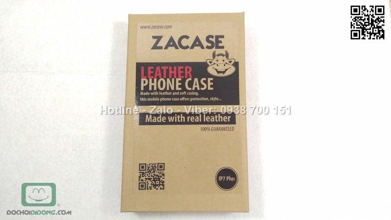 Bao da iPhone 8 Plus Zacase da thật cao cấp