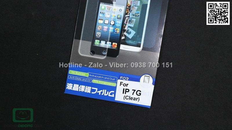 Miếng dán mặt trước iPhone 8 loại trong