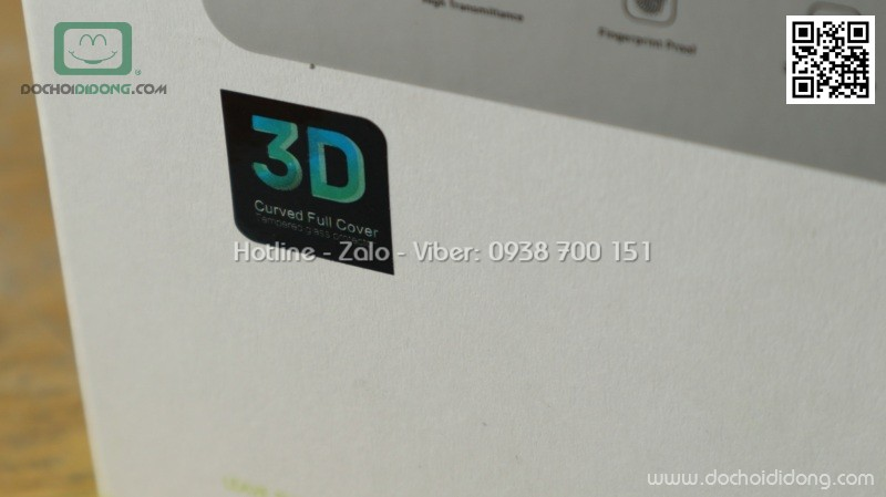 Miếng dán cường lực iPhone 8 Plus Benks V Pro full màn hình
