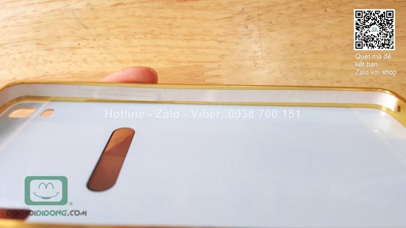 Ốp lưng Lenovo A7000 K3 Note viền nhôm lưng tráng thủy