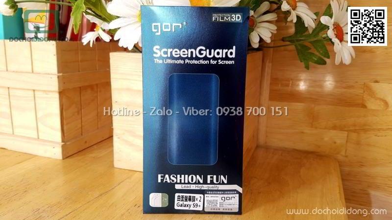 Bộ 2 miếng dán full màn hình Samsung S9 Plus Gor