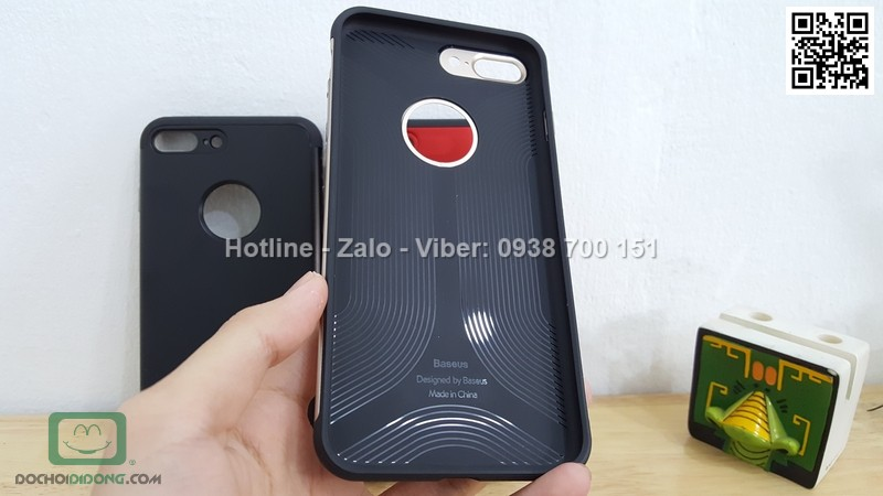 Ốp lưng iPhone 8 Plus Baseus Pinshion Case