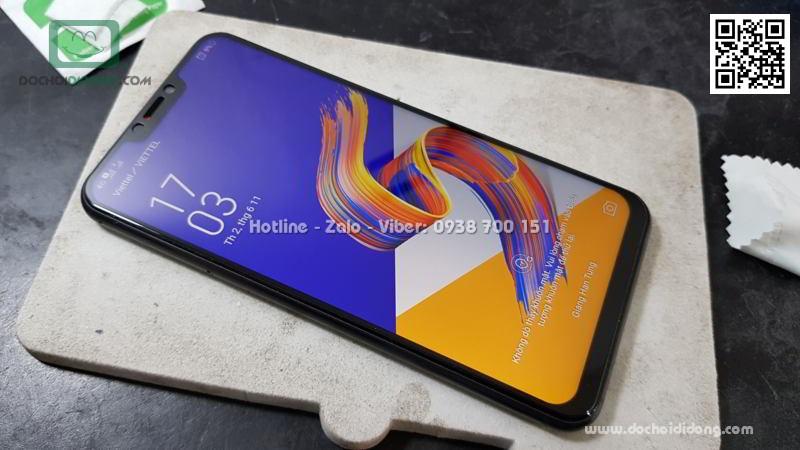 Miếng dán cường lực Asus Zenfone 5z ZS620KL full màn hình Zacase full keo