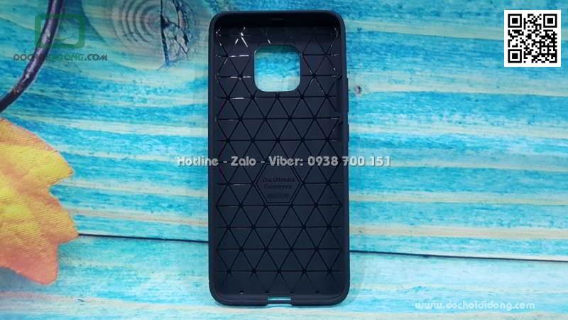 Ốp lưng Huawei Mate 20 Pro Likgus chống sốc vân kim loại