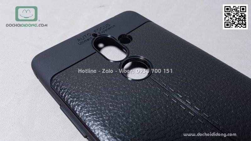 Ốp lưng Nokia 7 Plus Auto Focus dẻo lưng da