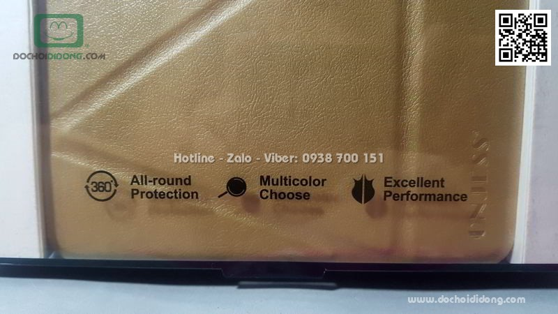 Bao da Samsung Tab A 10.1 2016 Onjess lưng dẻo êm ái