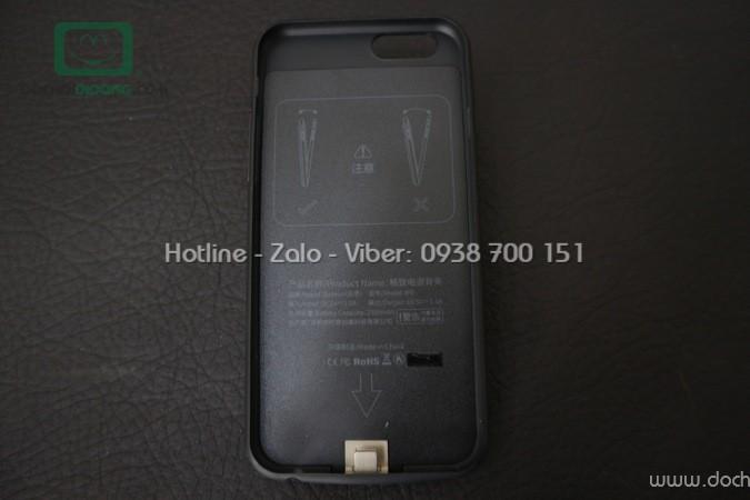 Ốp lưng sạc dự phòng iPhone 6 6S Baseus 2500mah