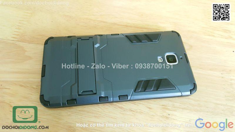 Ốp lưng Xiaomi Mi4 Iron Man chống sốc có chống lưng