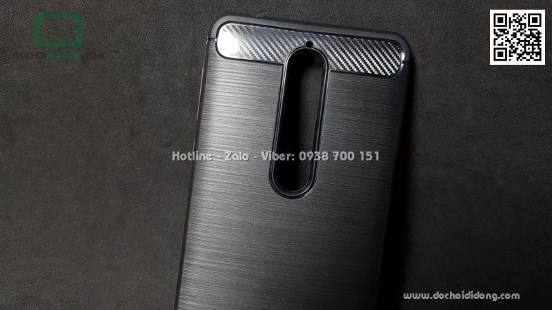 Ốp lưng Nokia 6 Likgus chống sốc vân kim loại