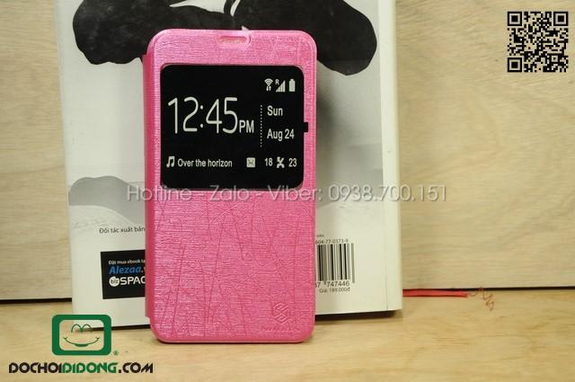 Bao da Lenovo A850 màu hồng