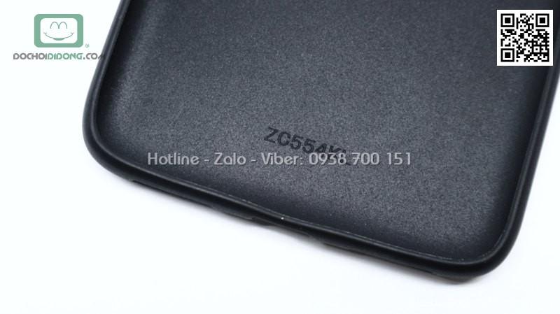 Ốp lưng Asus Zenfone 4 Max ZC554KL dẻo vân vải bố