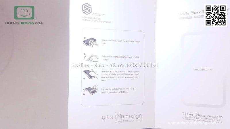 Ốp lưng HTC U Play Nillkin vân sần