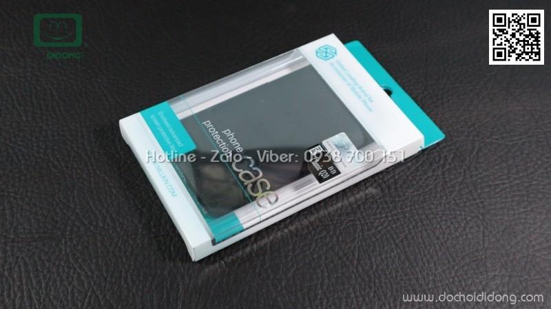 Ốp lưng Blackberry Classic Q20 Nillkin vân sần