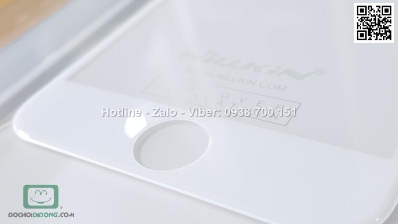 Miếng dán cường lực iPhone 7 Nillkin 3D CP Max full màn hình 9H