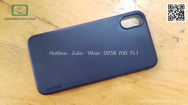 Ốp lưng iPhone X Memumi siêu mỏng 0.3mm